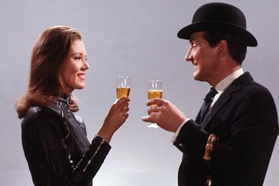John Steed and Emma Peel