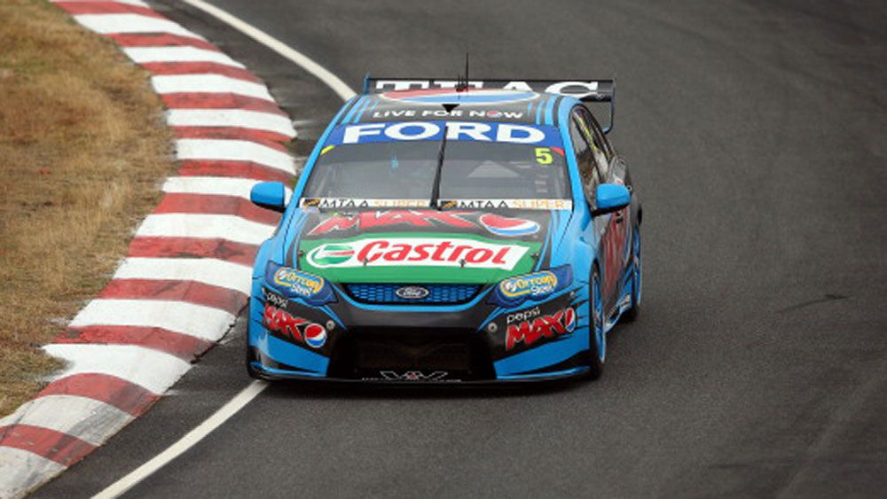 Mark Winterbottom in action at Symmons Plains. (Getty)