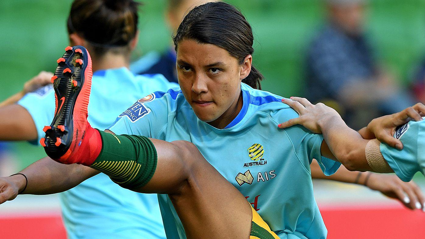 Matildas striker Sam Kerr hits back at sexist 'keyboard warriors'