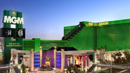The MGM Grand, home to The Mansion, where high-rollers rub shoulders with the rich and famous. (Supplied).
