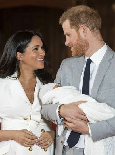 The Duke and Duchess of Sussex's royal baby announcement.