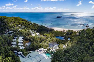 <strong>Alycia and Mathew: Kingfisher Bay Resort, Fraser Island</strong>