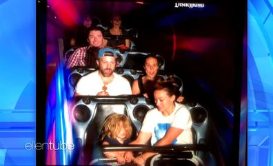 Jason Sudeikis and Olivia Wilde at Disneyland