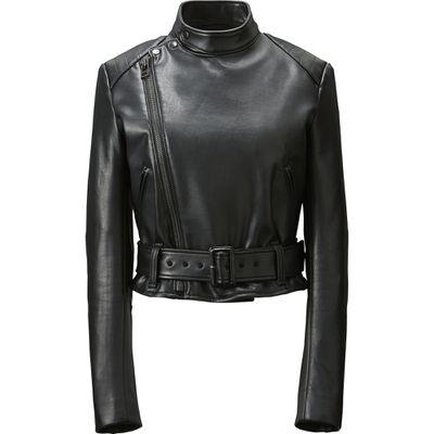 "<p>Biker babe</p> <p>Carine's rider jacket, $129.90, <a href=""http://www.uniqlo.com/au/store/women-carine-riders-jacket-1913590004.html"" target=""_blank"">Uniqlo</a></p>"