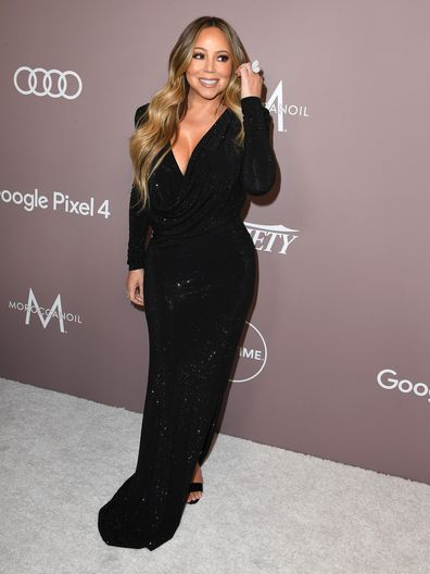 BEVERLY HILLS, CALIFORNIA - OCTOBER 11: Mariah Carey arrives at the Variety's 2019 Power Of Women: Los Angeles Presented By Lifetime at the Beverly Wilshire Four Seasons Hotel on October 11, 2019 in Beverly Hills, California. (Photo by Steve Granitz/WireImage)