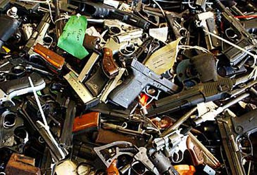 51,000 firearms have been handed in during the Australian gun amnesty. (AAP)