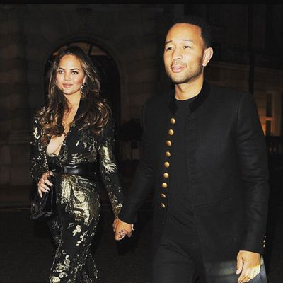 Chrissy Teigen, 30, and John Legend, 37: Married three years