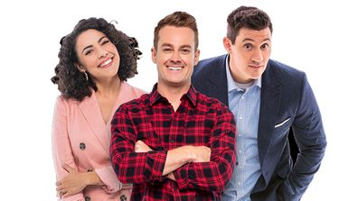 2Day FM hosts Grant Denyer, Ed Kavalee and Ash London