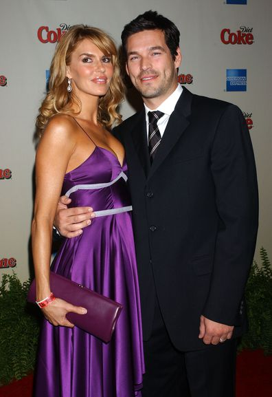 Brandi Glanville and Eddie Cibrian attend the Rolling Stone Rock the 2006 Oscars party in 2006.