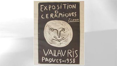 <p>Bargain art hunter Zachary Bodish stumbled upon what was thought to be a reproduction of a Pablo Picasso exhibition poster. </p><p> He snapped it up for $14.41 but later found out it was an original and worth $6000. </p><p> </p>