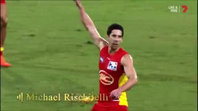 Gold Coast Suns' Michael Rischitelli denies AFL retirement after Brownlow Medal highlights packagae