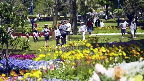 Toowoomba's Carnival of Flowers.