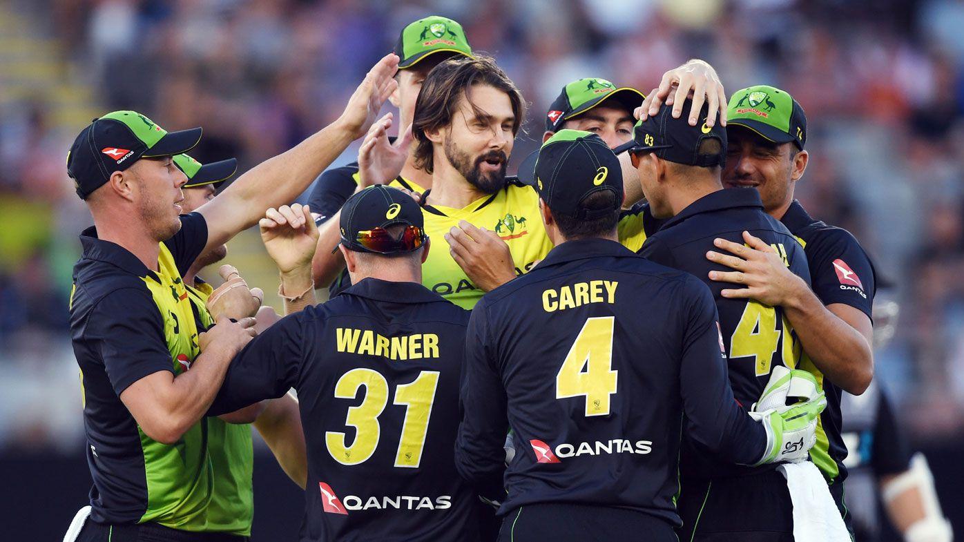 Australia defeats New Zealand in rain-disrupted T20 tri-series final