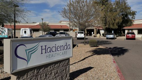 The Hacienda HealthCare facility in Phoenix, Arizona in the United States fired Mr Sutherland after his arrest.