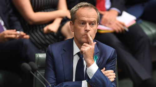 """Opposition leader Bill Shorten has said he """"feels sorry"""" for Malcolm Turnbull following the prime minister's stinging personal attack. (AAP)"""