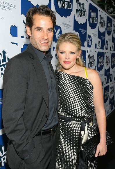 Actor Adrian Pasdar and The Chicks' Natalie Maines in 2007