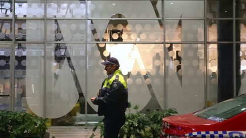 The AFP raided ABC offices after an unflattering story was published.