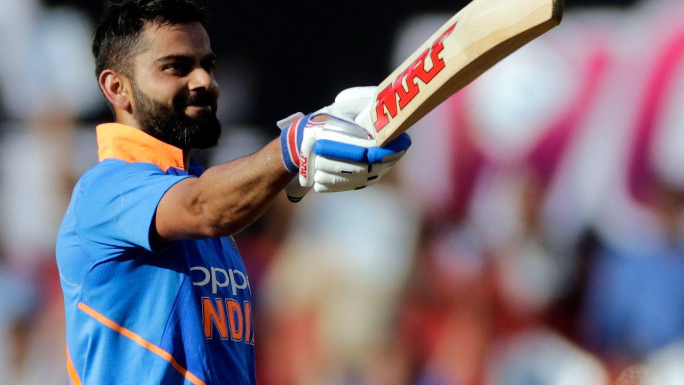 Cricket: Virat Kohli knocks gritty ton to help boost India to 250 total