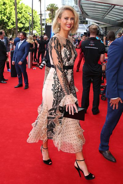 Today Show Host Sylvia Jeffreys at the 2017 ARIA Awards
