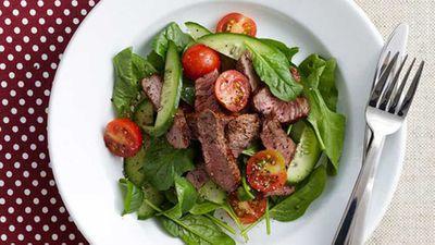 "Nothing like a good steak for Australia Day -<a href=""http://kitchen.nine.com.au/2016/05/16/10/51/smoky-paprika-steak-salad-for-10"" target=""_top"">Smoky paprika steak salad</a>recipe"