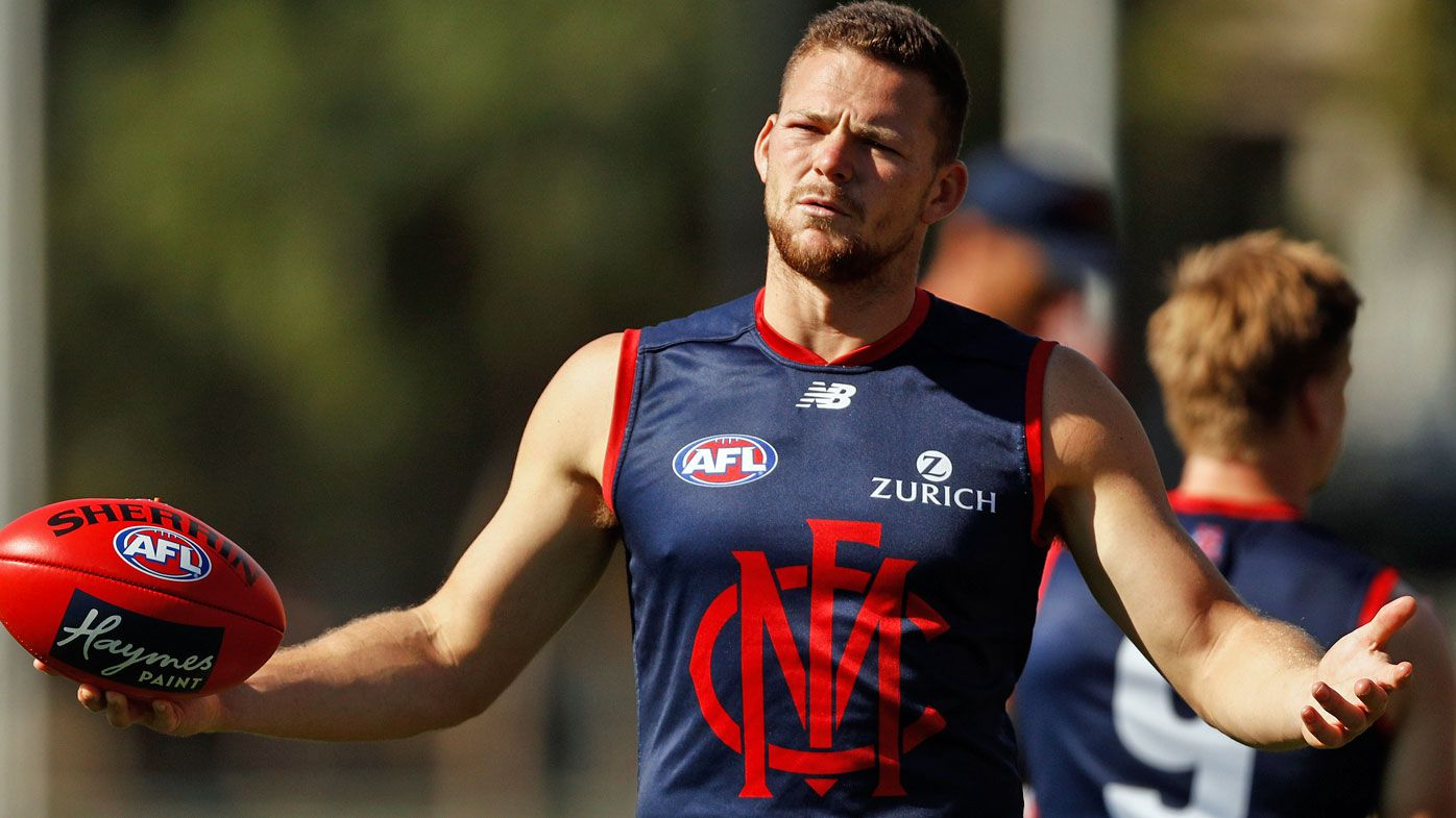 May at Dees training