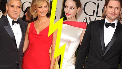 George Clooney hates Angelina Jolie, and Angelina hates George's girlfriend