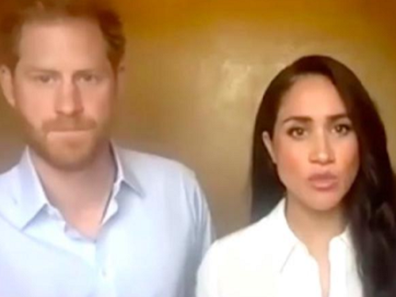 Prince Harry and Meghan talk about racism during online forum.