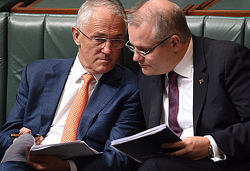 Malcolm Turnbull and Scott Morrison (AAP)