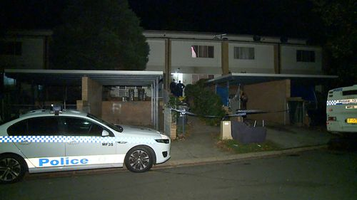 The stabbing happened at a home on Preston Way in Claymore. (9NEWS)