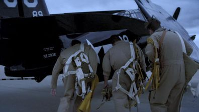 A simulation of pilots boarding Flight 19.