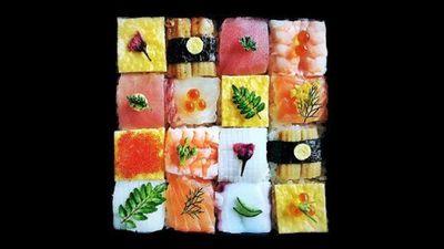 5. Mosaic sushi