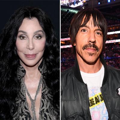 Cher and Anthony Kiedis
