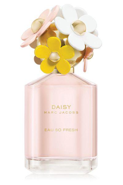 """<a href=""""http://www.myer.com.au/shop/mystore/women/all-fragrance/daisy-eau-so-fresh-edt-947350730-947362070"""" target=""""_blank"""">Marc Jacobs Daisy Eau So Fresh EDT (75ml), $115.</a>"""