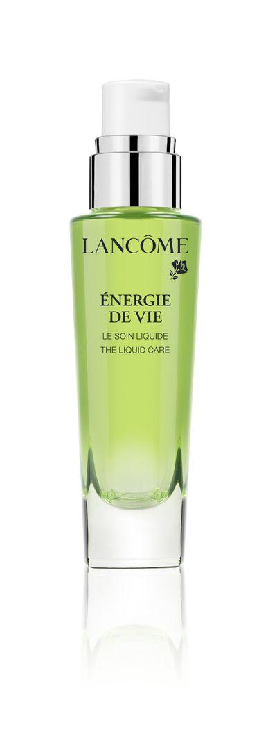 """<a href=""""http://www.lancome.com.au/skincare/by-range/energie-de-vie/energie-de-vie-moisturiser/3614271254979.html?cgid=L3_Axe_Skincare_EnergieDeVie#start=2&amp;cgid=L3_Axe_Skincare_EnergieDeVie"""" target=""""_blank"""">Lanc&ocirc;me &Eacute;nergie De Vie Liquid Care, $80, lancome.com.au</a>"""