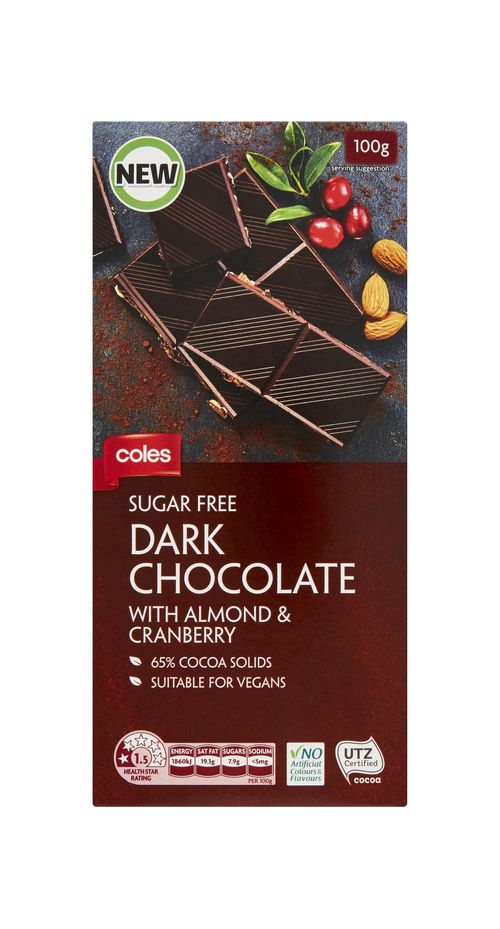 The two products had labels that advised the chocolate was 'suitable for vegans'. Picture: Supplied.