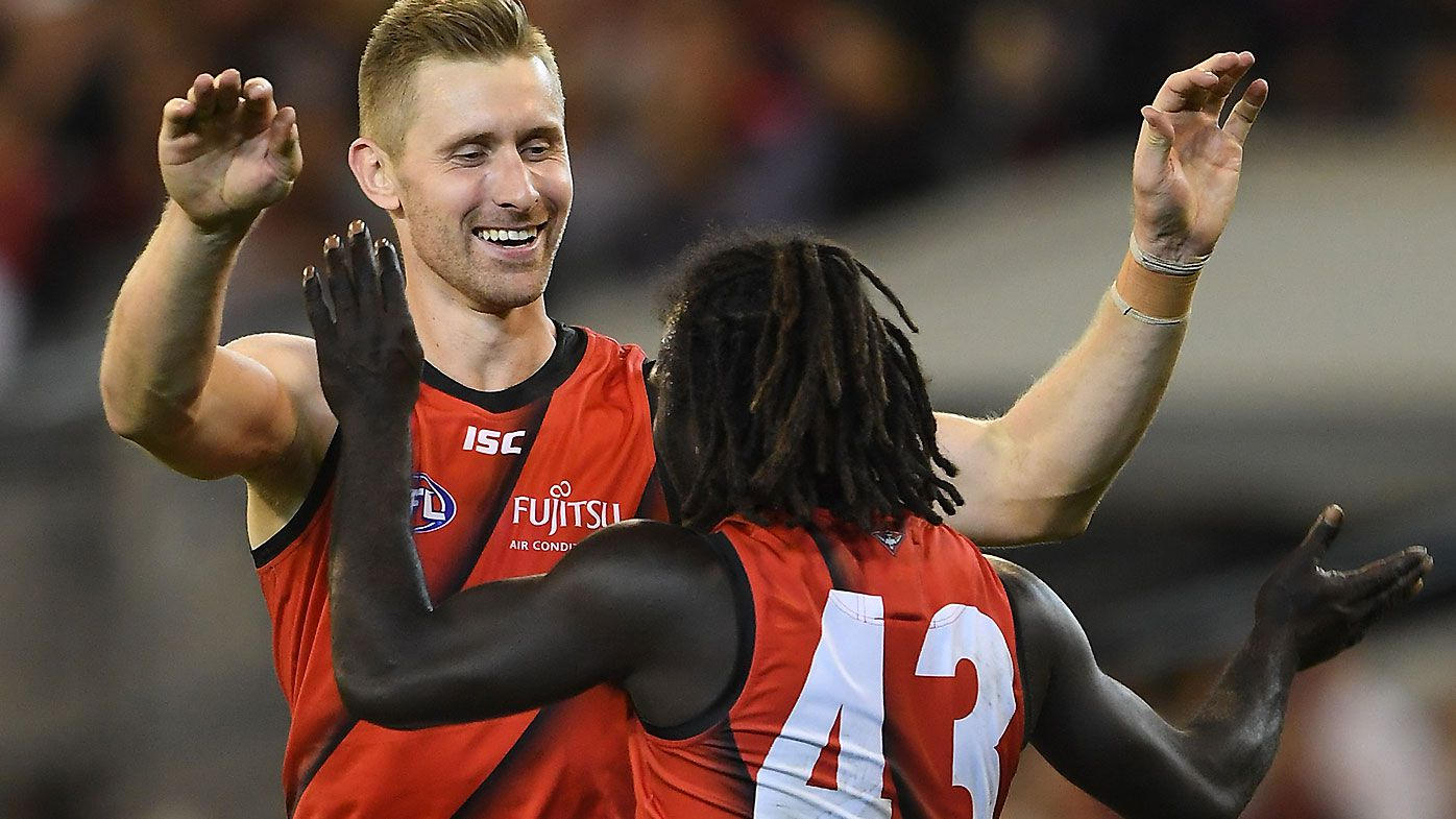 'You've got to love football': Emotional Dyson Heppell stars as Bombers break 2019 duck