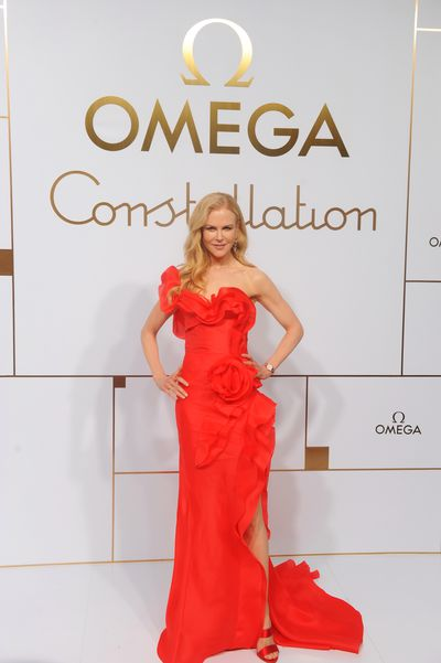 Nicole Kidman attends the Omega 'Constellations' launch event on October 23, 2018 in Shanghai, China.