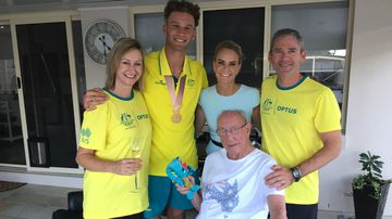 Hero's welcome for new Aussie household name Kurtis Marschall
