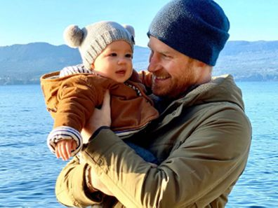 Prince Harry and Archie in Canada