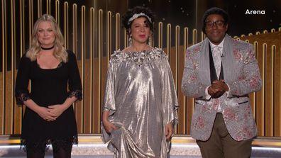 Maya Rudolph and Kenan Thompson at the 78th Golden Globes