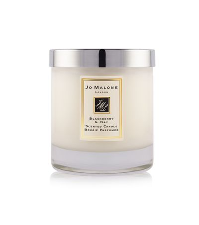 """<a href=""""https://www.jomalone.com.au/for-home/candles"""" target=""""_blank"""">Jo Malone London Blackberry &amp; Bay Home Candle, $85.</a>"""