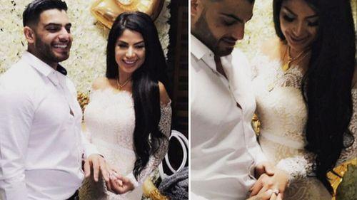 Sam Sayour and Aiisha Mehajer. (9NEWS)
