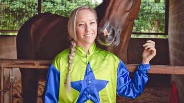 The close-knit Darwin racing community is trying to come to terms with the death of jockey Melanie Tyndall in a race fall at Fannie Bay racecourse.