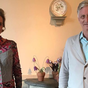 King Philippe meets his half-sister Delphine for the first time