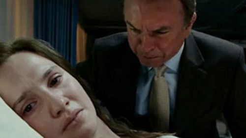 The case was adapted into an Australian film called 'In Her Skin' with Ruth Bradley (left) as Caroline and Sam Neill (right) as her father.