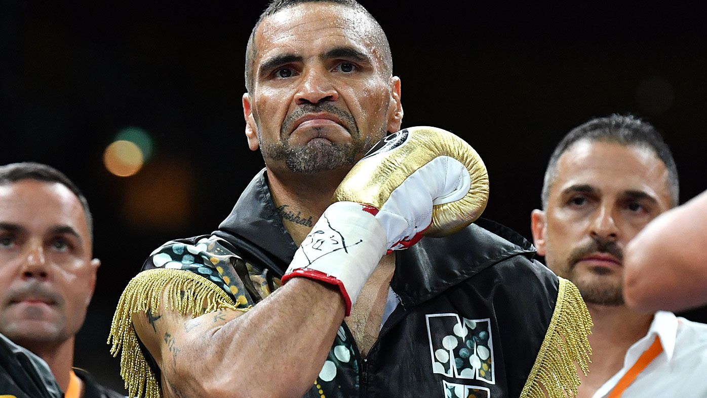 Anthony Mundine 'relieved' his boxing career is over after humbling defeat to Jeff Horn