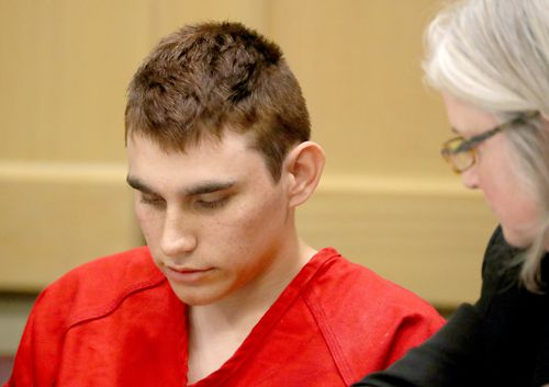 Cruz faces charged of killing 17 people and wounding many others. (AAP)