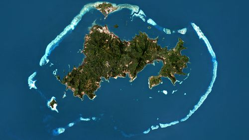 Mayotte island.