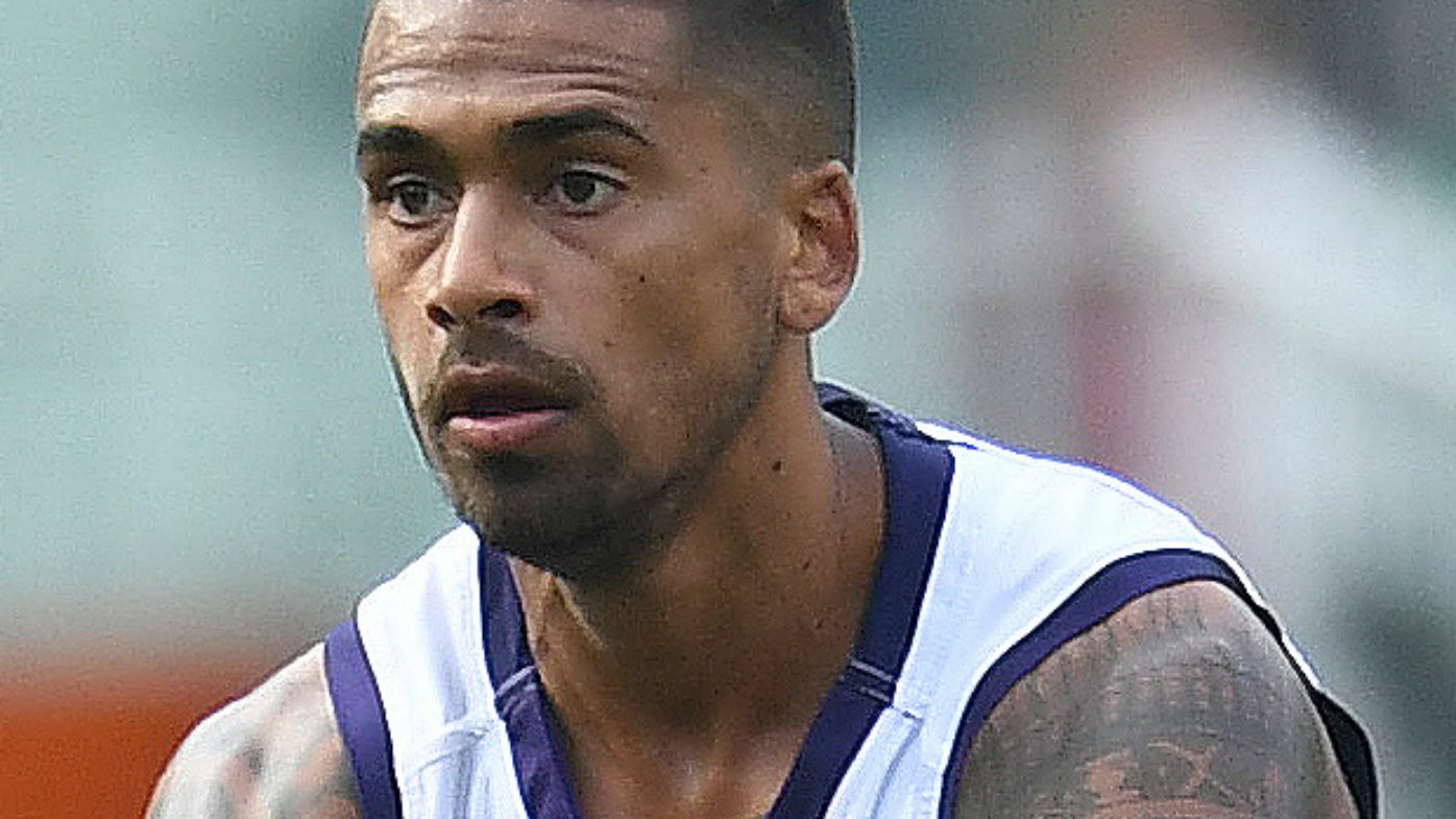 Bradley Hill of the Dockers