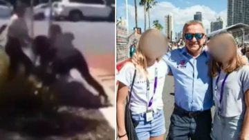 Teen arrested over attack involving racing legend's daughters